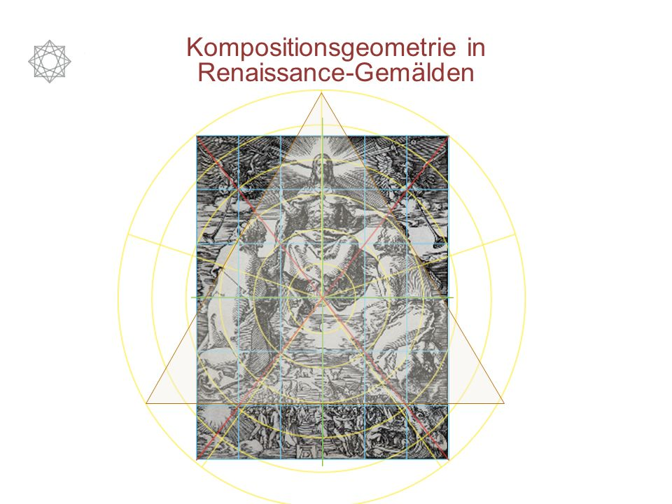 Kompositionsgeometrie in Renaissance-Gemälden
