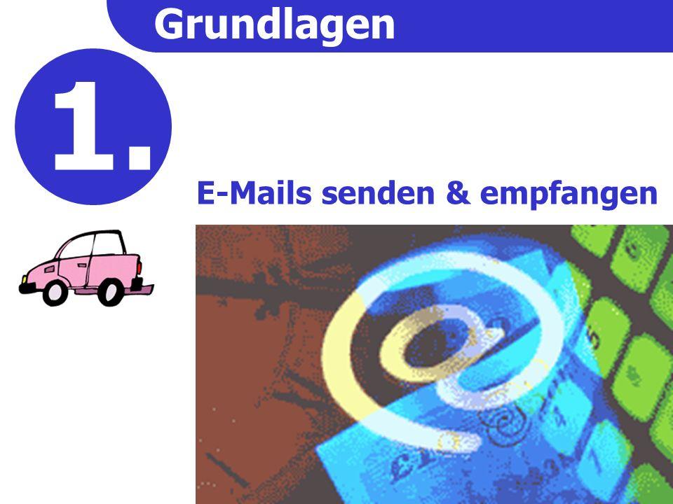 Wo sind meine E-Mails .(2) Sie arbeiten immer nur an einem Computer.
