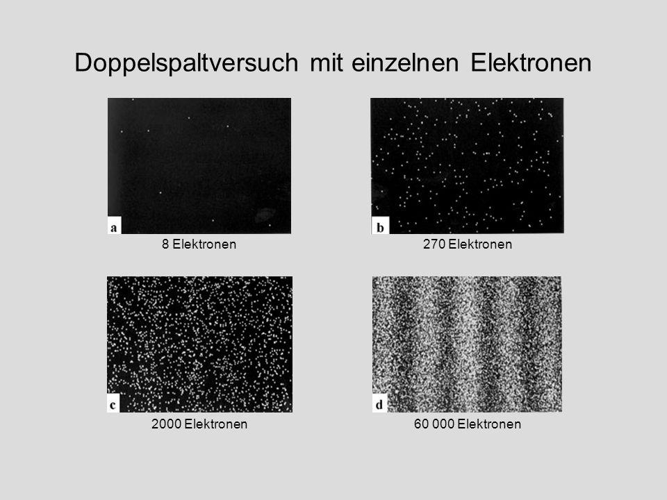 8 Elektronen270 Elektronen 2000 Elektronen60 000 Elektronen