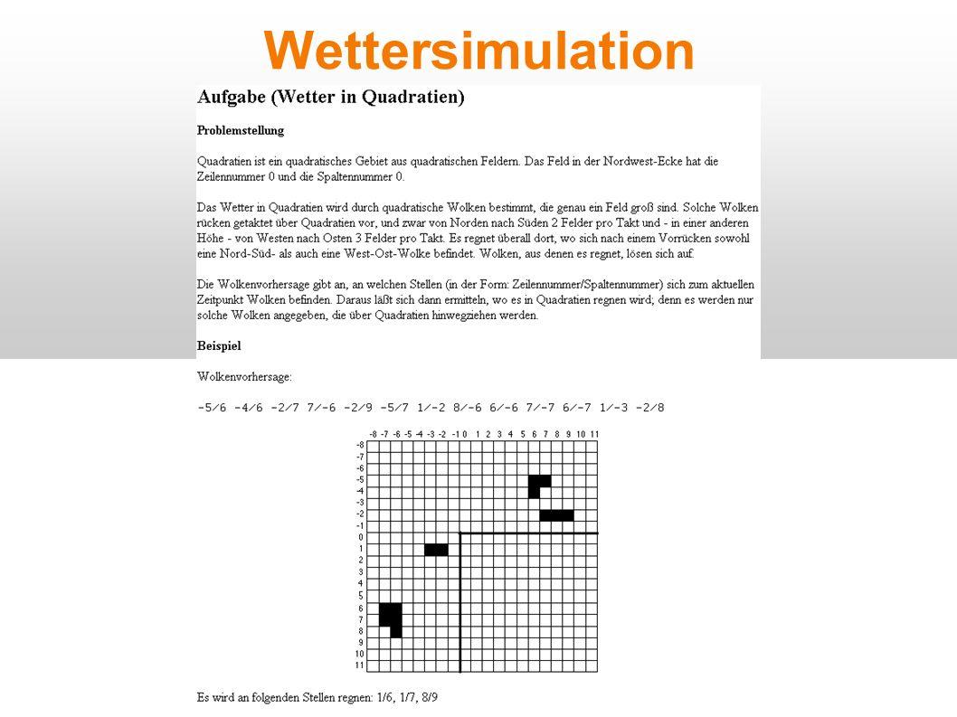 Wettersimulation