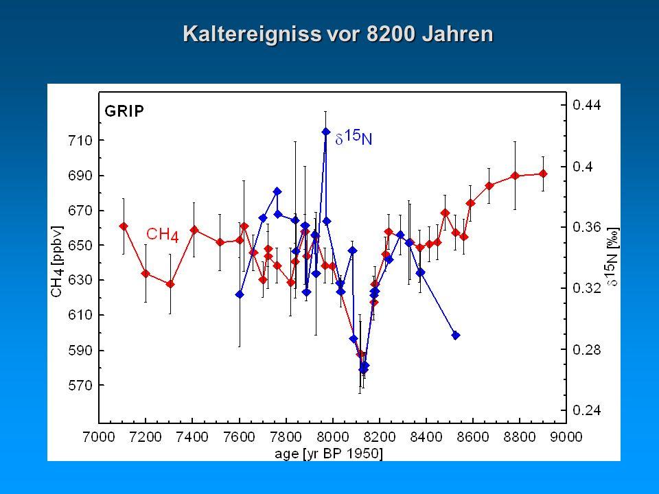Kaltereigniss vor 8200 Jahren