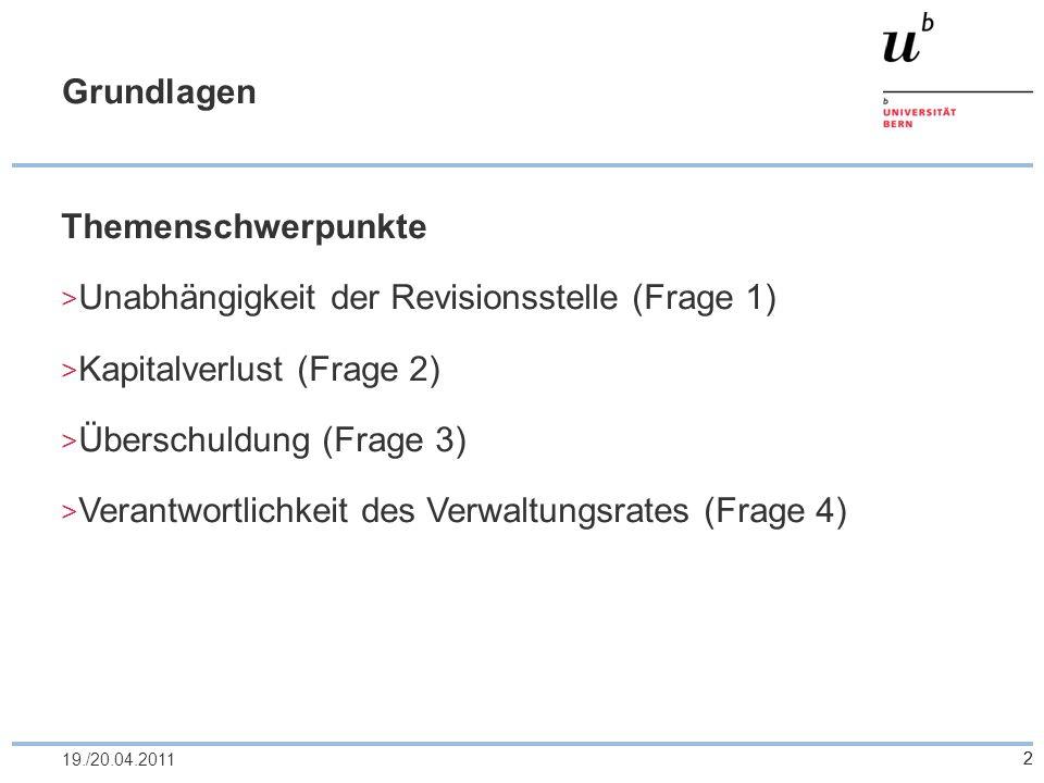 23 Frage 2b 1/2 Tim, Tom und Eva (Verwaltungsräte) Einberufung Generalversammlung (Art.