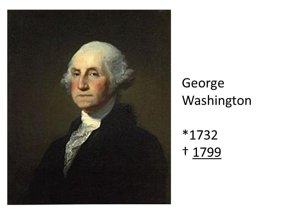 George Washington *1732 1799
