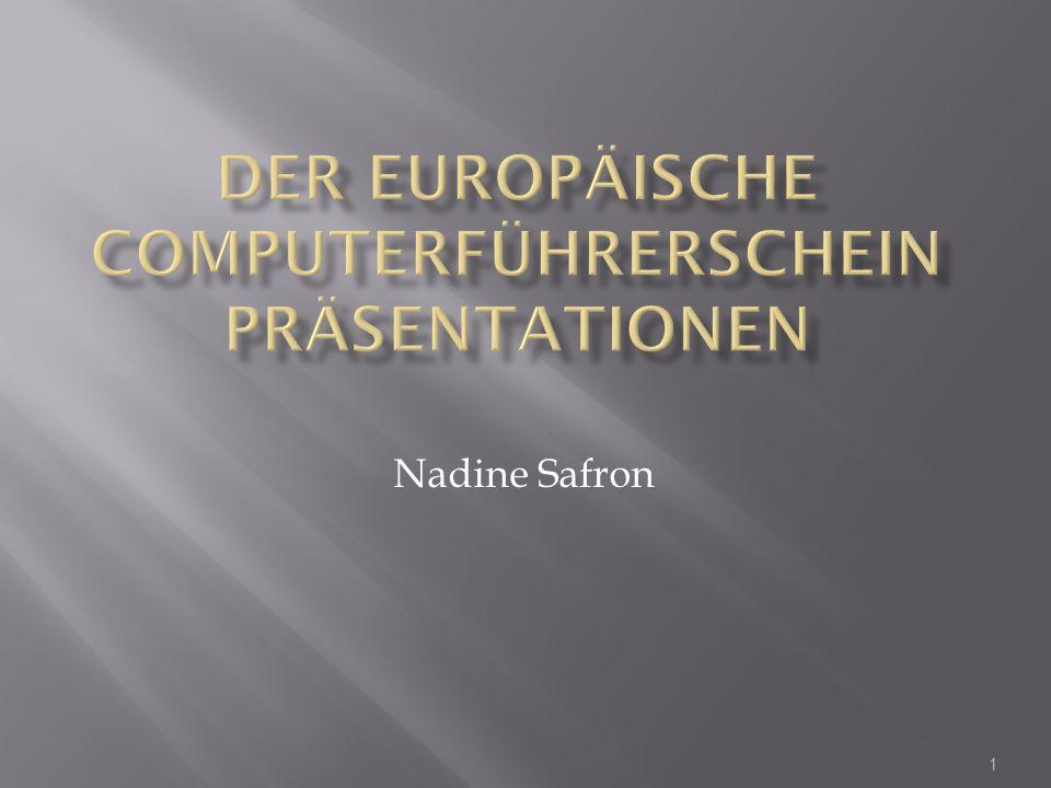 1 Nadine Safron
