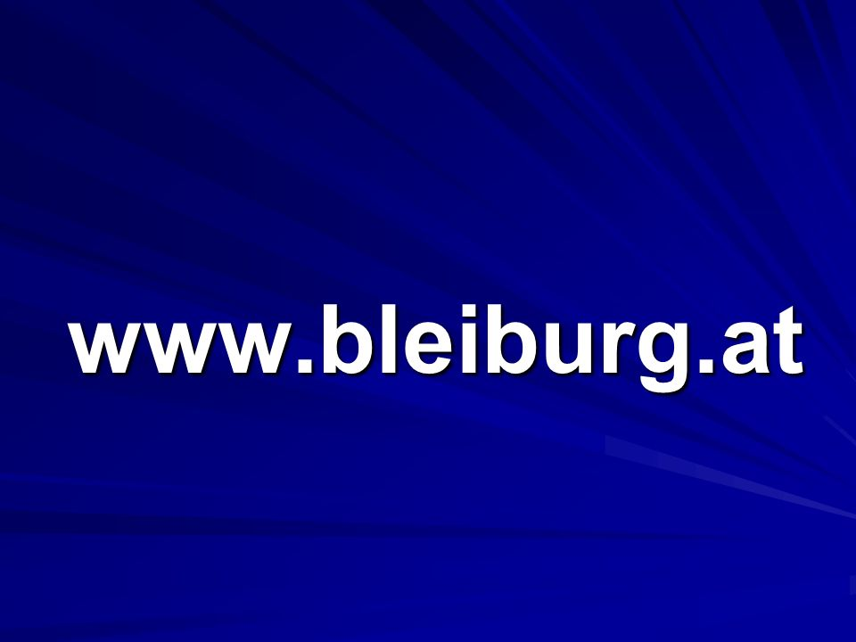 www.bleiburg.at www.bleiburg.at