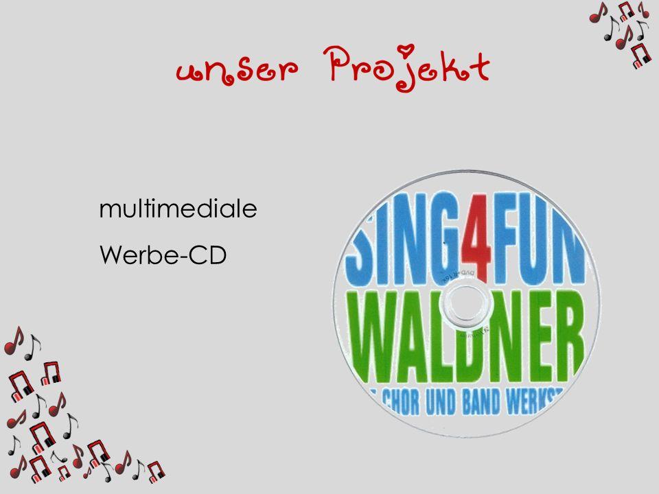 multimediale Werbe-CD