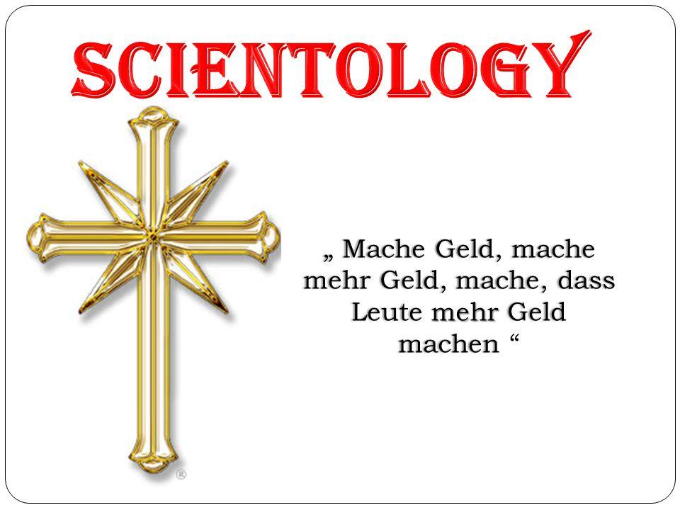 Was ist Scientology Bewegung Ideologie - L.