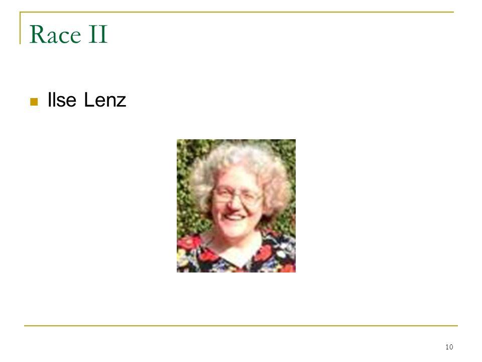 10 Race II Ilse Lenz