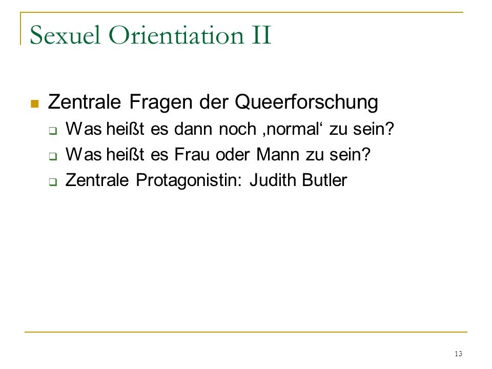 14 Sexual orientation III Judith Butler