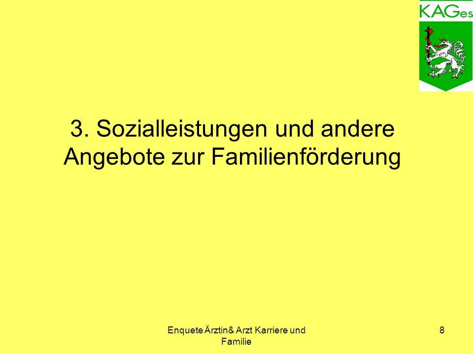 Enquete Ärztin& Arzt Karriere und Familie 8 3.