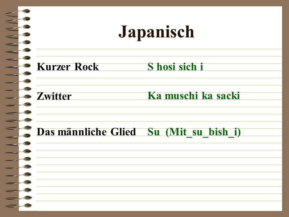 Japanisch Kurzer RockS hosi sich i Zwitter Ka muschi ka sacki Das männliche GliedSu (Mit_su_bish_i)
