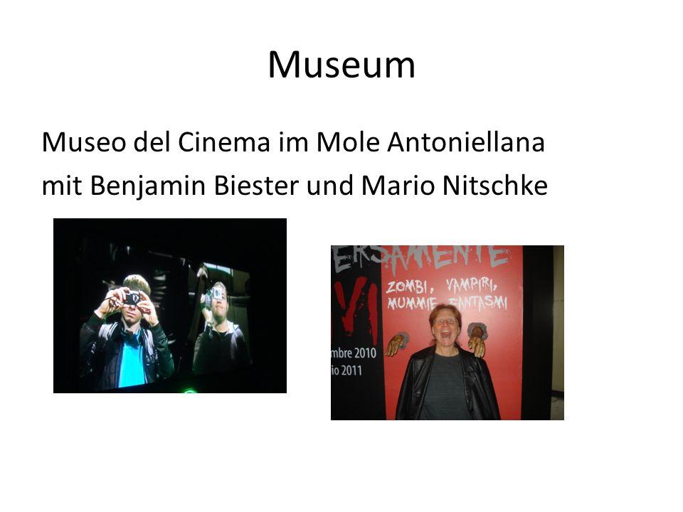 Museum Museo del Cinema im Mole Antoniellana mit Benjamin Biester und Mario Nitschke