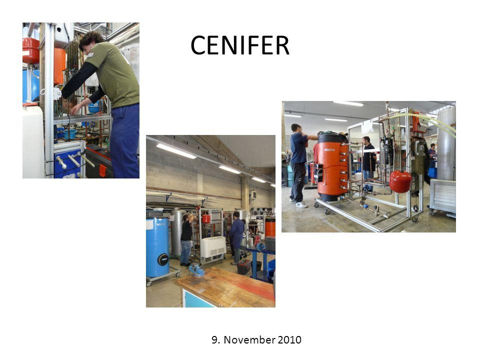 CENIFER 9. November 2010