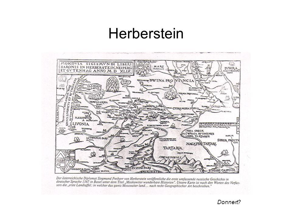 Herberstein Donnert?