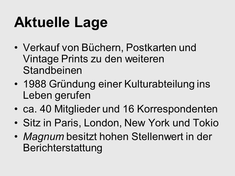 Aktuelle Lage Verkauf von Büchern, Postkarten und Vintage Prints zu den weiteren Standbeinen 1988 Gründung einer Kulturabteilung ins Leben gerufen ca.