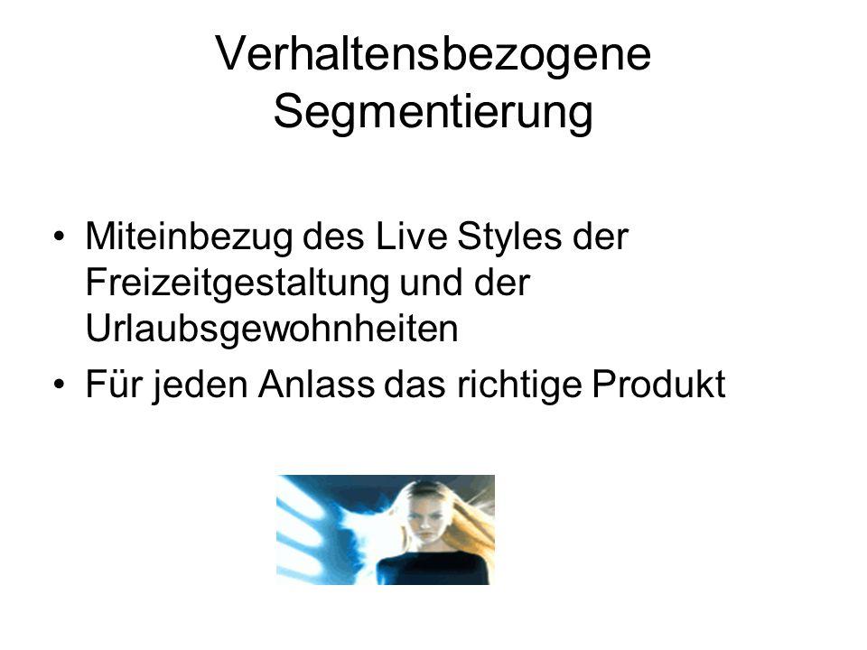 Segmentierung des Haarpflegemarktes am Beispiel Lockiges Haar Lockiges Haar Professional Products für professionelle Behandlung zB.