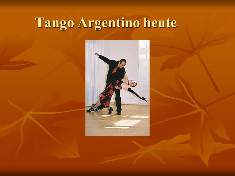 Tango Argentino heute
