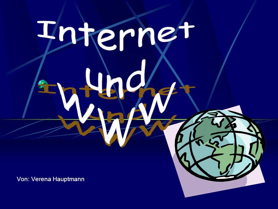 Entstehung des INTERNETS -1969 Geburtsstunde des Internets -ARPA -1970 Alohanet -80er Universitätsnetze -1989 World Wide Web