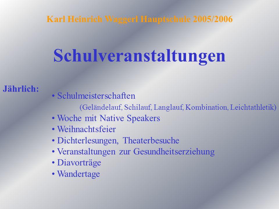 Englandwoche Wienwoche Veranstaltungen zur Berufsinformation und Berufsorientierung Schulveranstaltungen 2.