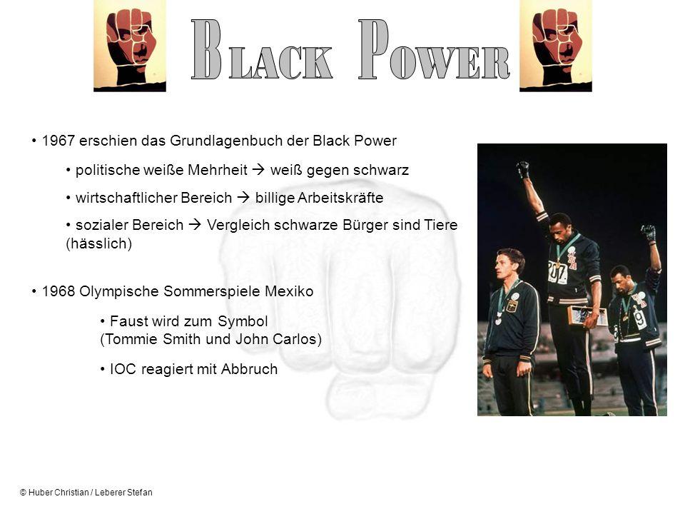 © Huber Christian / Leberer Stefan 1967 erschien das Grundlagenbuch der Black Power politische weiße Mehrheit weiß gegen schwarz wirtschaftlicher Bere