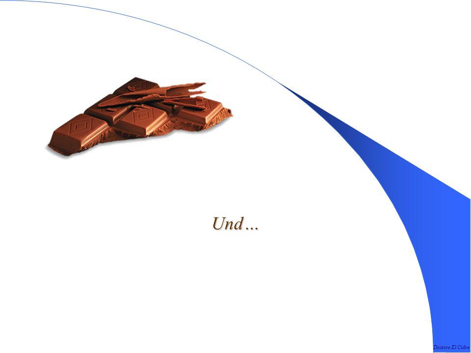 Dottore El Cidre Bei Schokolade ist die Größe egal, sie ist immer gut.