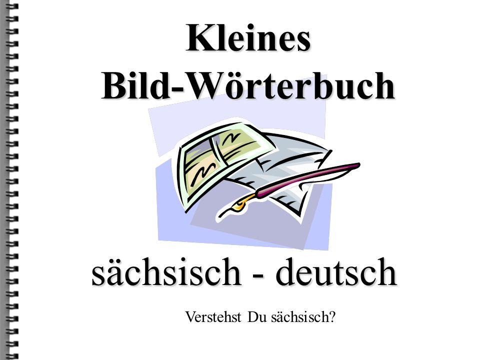 deutsch: Sähschelbound sächsisch: Seegelboot