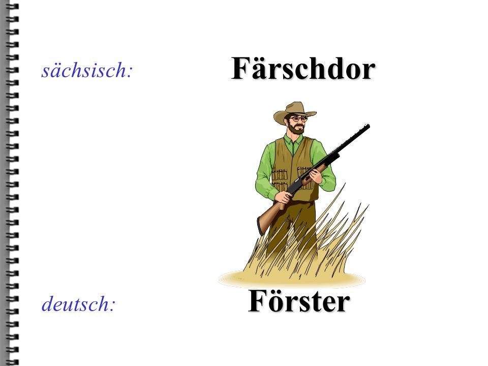 deutsch: Biordägl sächsisch: Bierdeckel