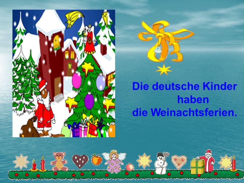 Nun singt es und klingt es So lieblich und fein. Wir singen die fröhliche Weihnachtszeit ein.