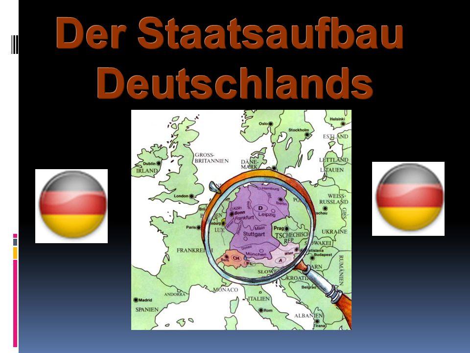 Laut des Grundgesetzes – der Verfassung – gibt es in Deutschland drei Mächte.