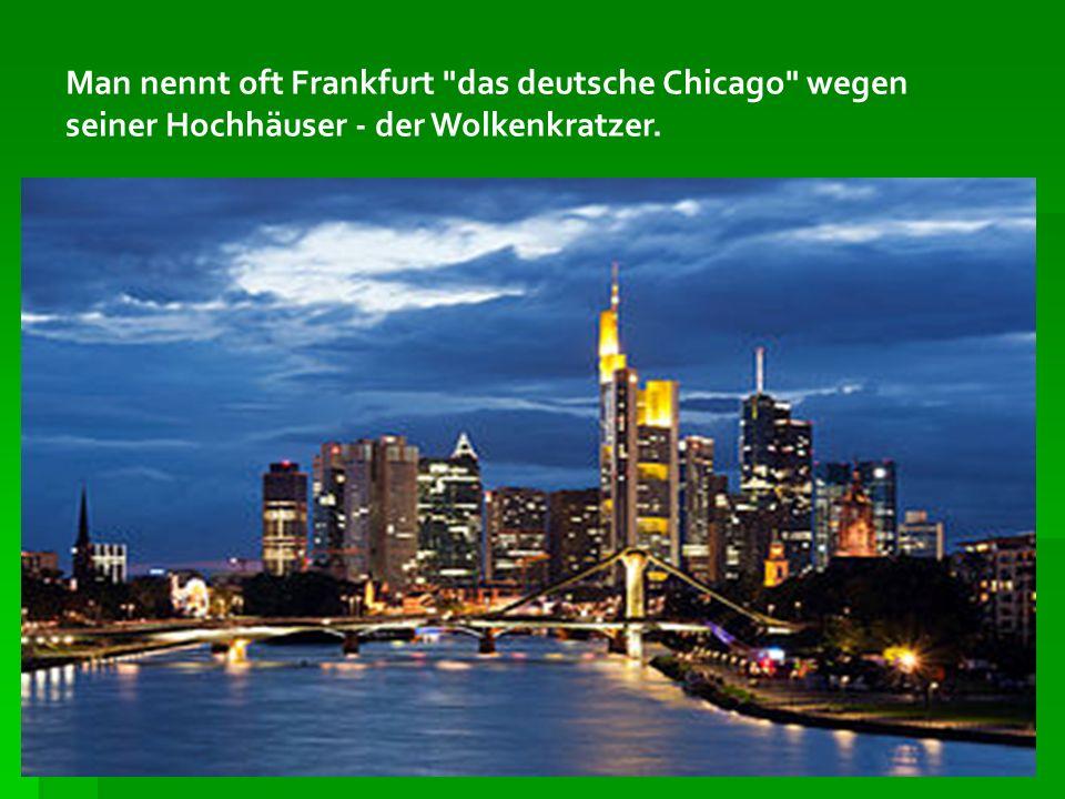 Der Römer ist seit dem 15.Jahrhundert das Rathaus der Stadt Frankfurt am Main und ihr Wahrzeichen.