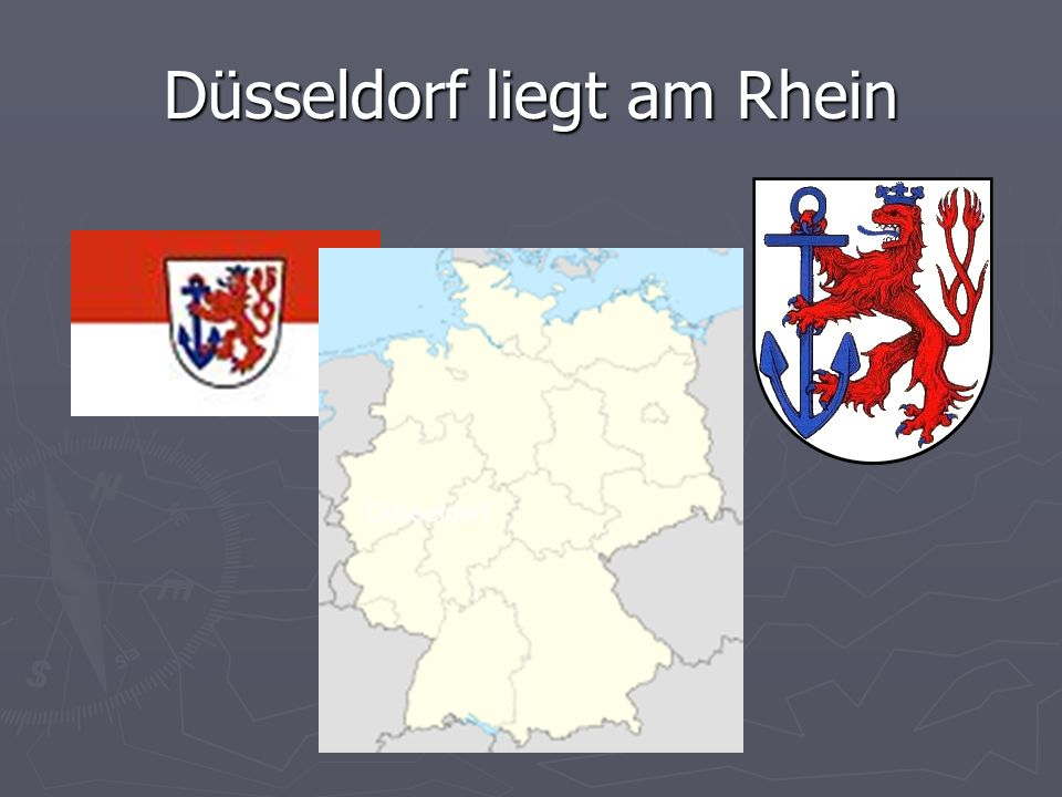 Düsseldorf liegt am Rhein Düsseldorf