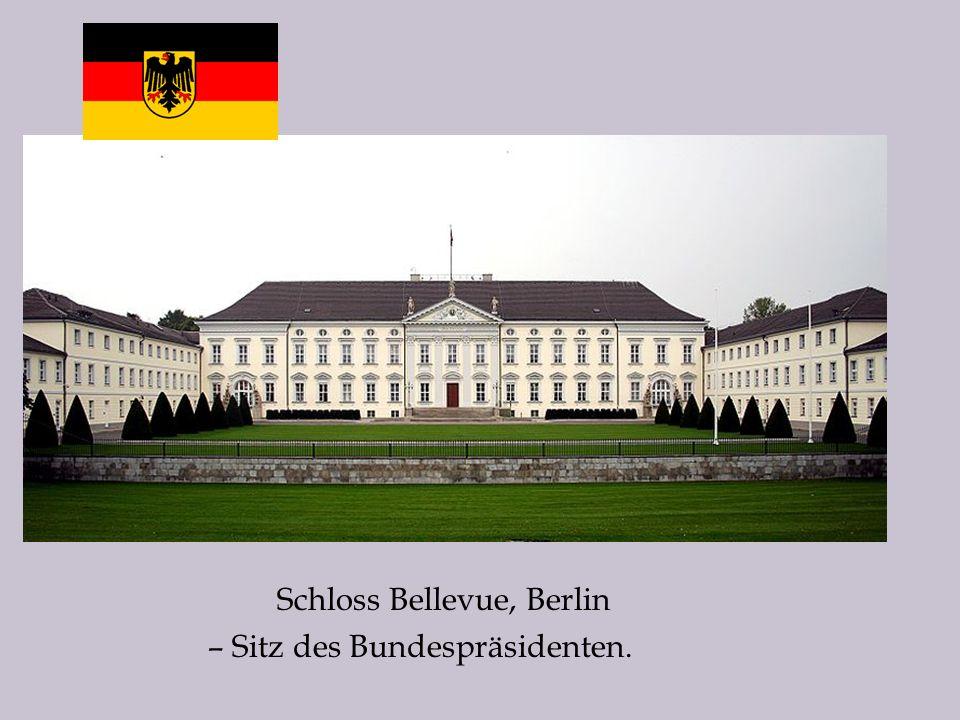 Schloss Bellevue, Berlin – Sitz des Bundespräsidenten.