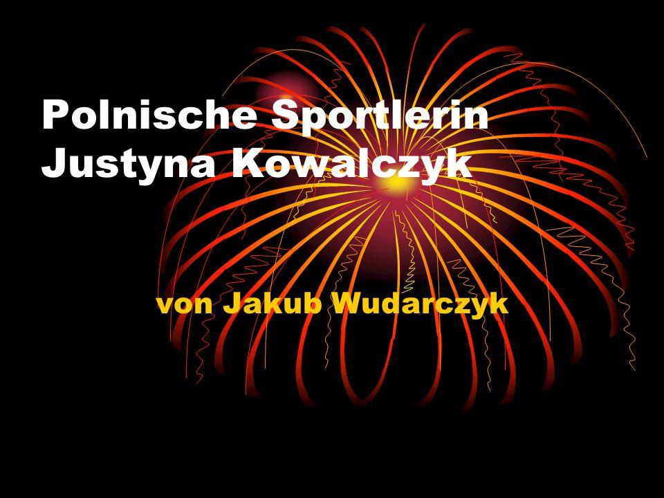 Polnische Sportlerin Justyna Kowalczyk von Jakub Wudarczyk
