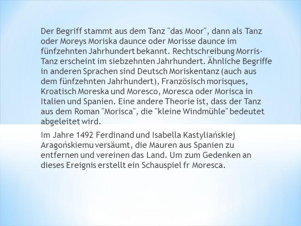 Heute gibt es 6 dominant Morris Tanzstile und verschiedene Tänze und Traditionen innerhalb jeder Stil ist nach der Region, in der es entstanden ist benannt.