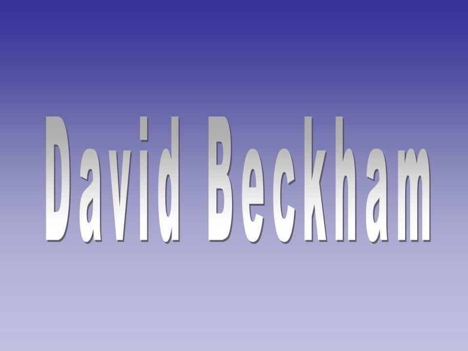 David Robert Joseph Beckham, (Geboren 2.