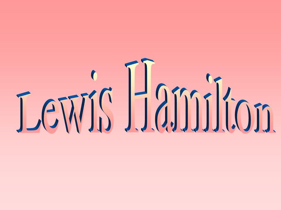 Lewis Carl Davidson Hamilton MBE (Geboren 7.