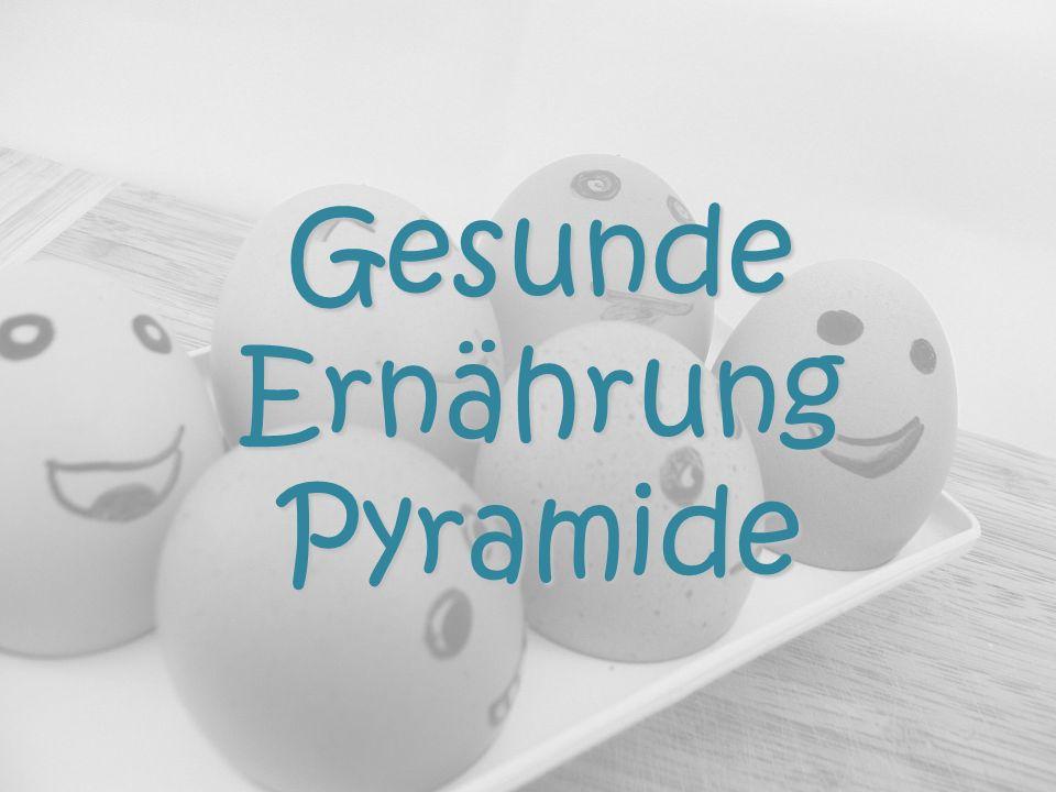 Gesunde Ernährung Pyramide