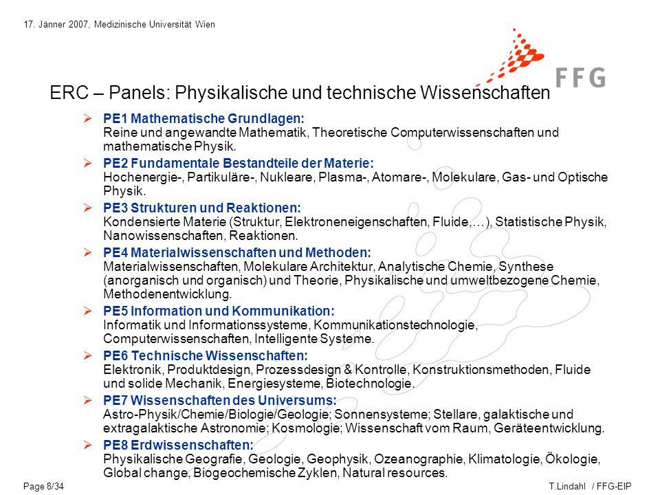 T.Lindahl / FFG-EIP 17.
