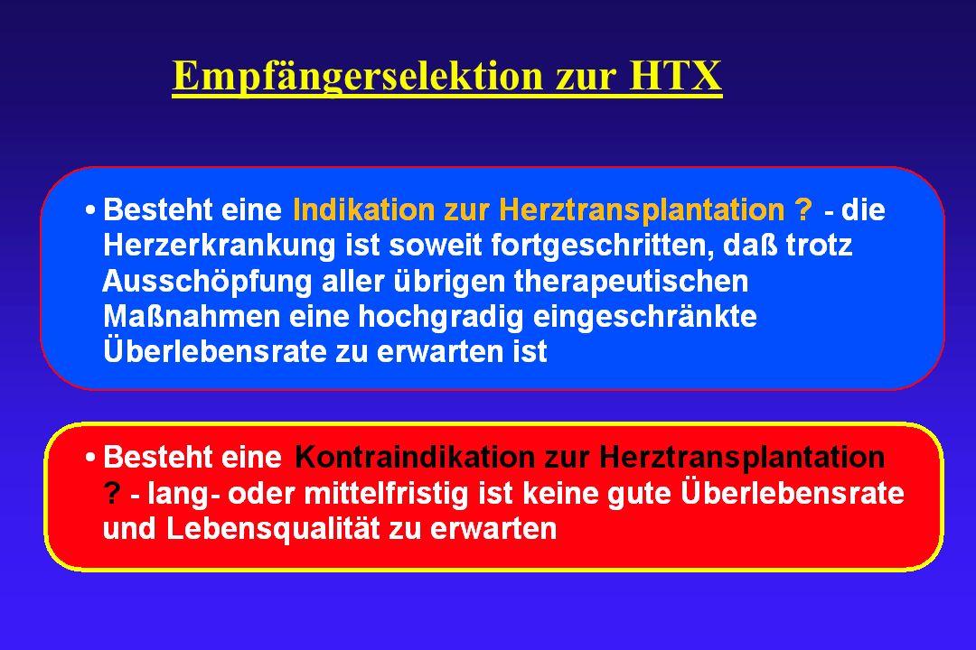 Empfängerselektion zur HTX