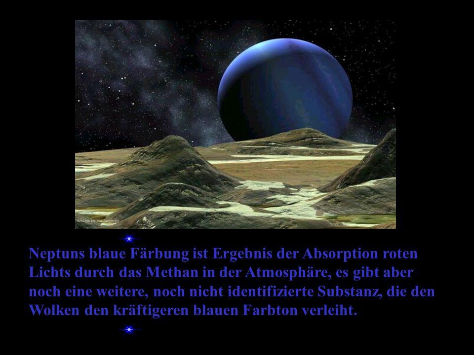 Neptun, der ferne Gasriese Ein Gasriese ist ein sehr großer Planet mit sehr geringer Dichte.