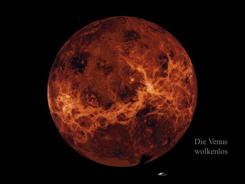 Die Venus mit Wolkendecke