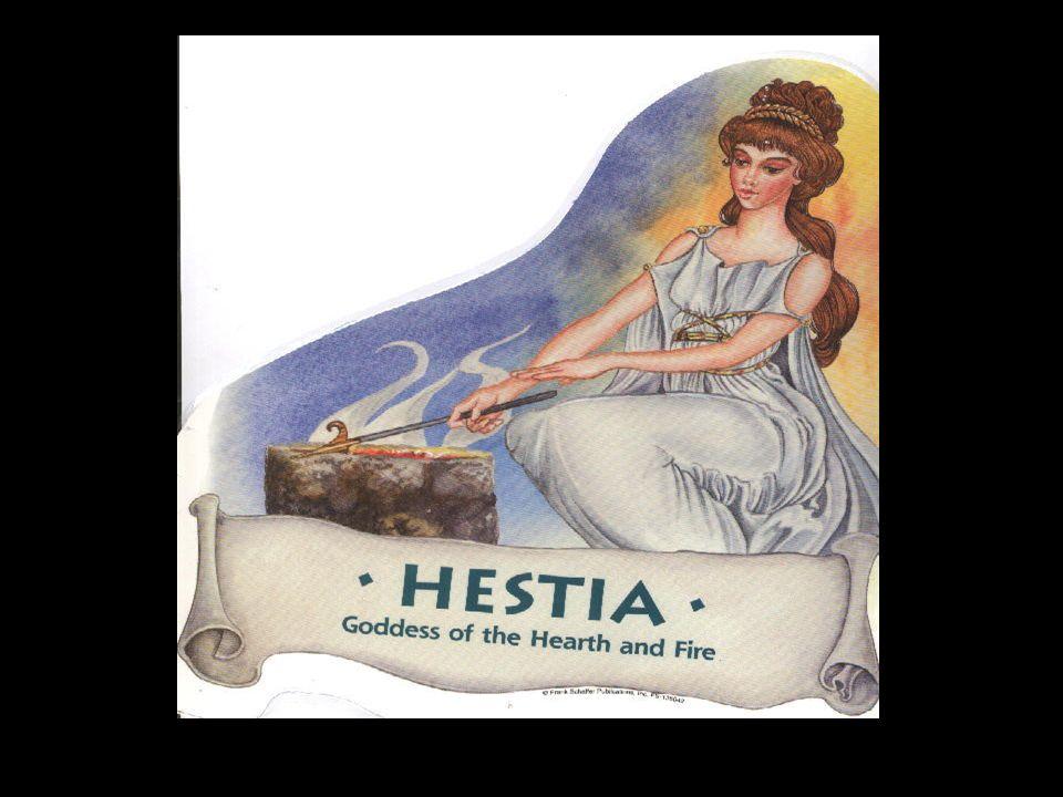 Hestia Göttin der Familie und des Herdfeuers