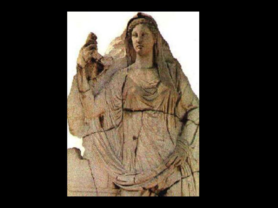 Sie war eine jungfräuliche Göttin, die, obwohl Poseidon und Apollon um sie warben, ewig Jungfrau zu bleiben schwur und der Zeus auf diesen Wunsch hin