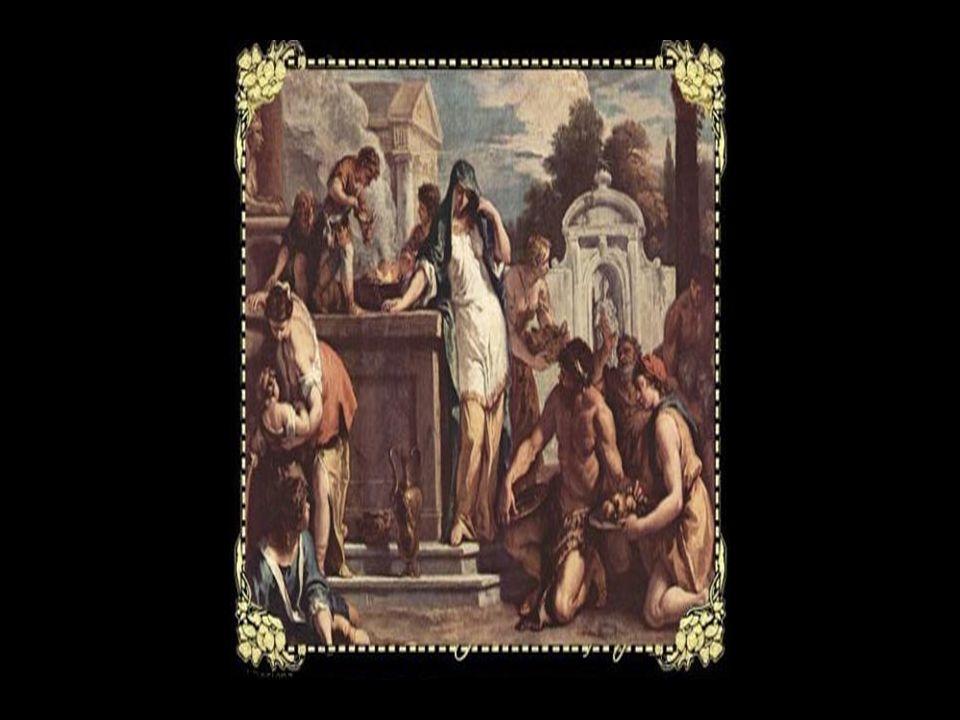 Obwohl Hestia niemals einen Gemahl hatte, weil kein Gott ihren streng matriarchalisch gehüteten Bereich mit ihr teilen durfte, wurde sie doch oft mit