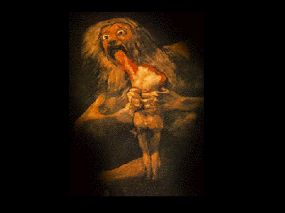 Einer Prophezeiung zufolge sollte Kronos selbst durch eines seiner Kinder entmachtet werden. Daher verschlang er alle bis auf Zeus, den seine Mutter R