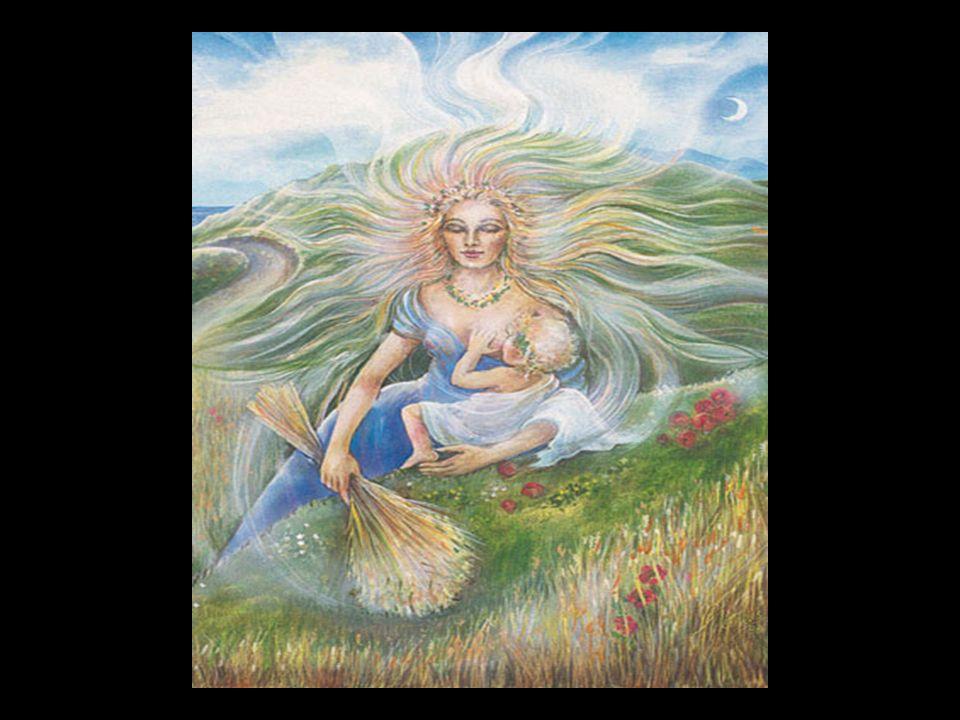 Demeter ist Muttergöttin der Griechen und wurde als Getreidegöttin verehrt. Sie ist Tochter des Kronos und der Rhea, Schwester von Hera, Hades, Hestia