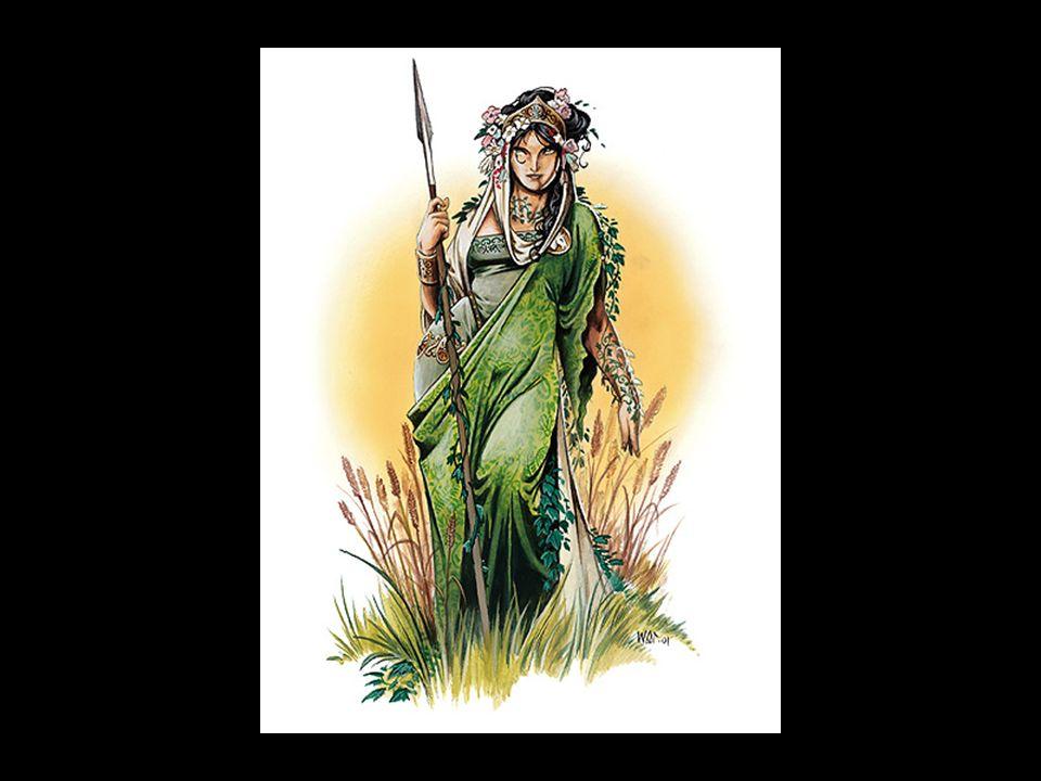 Persephone wurde vom verliebten Hades in die Unterwelt entführt. Auf der Suche nach ihrem Kind flog Demeter durch die ganze Welt. Neun Tage und neun N