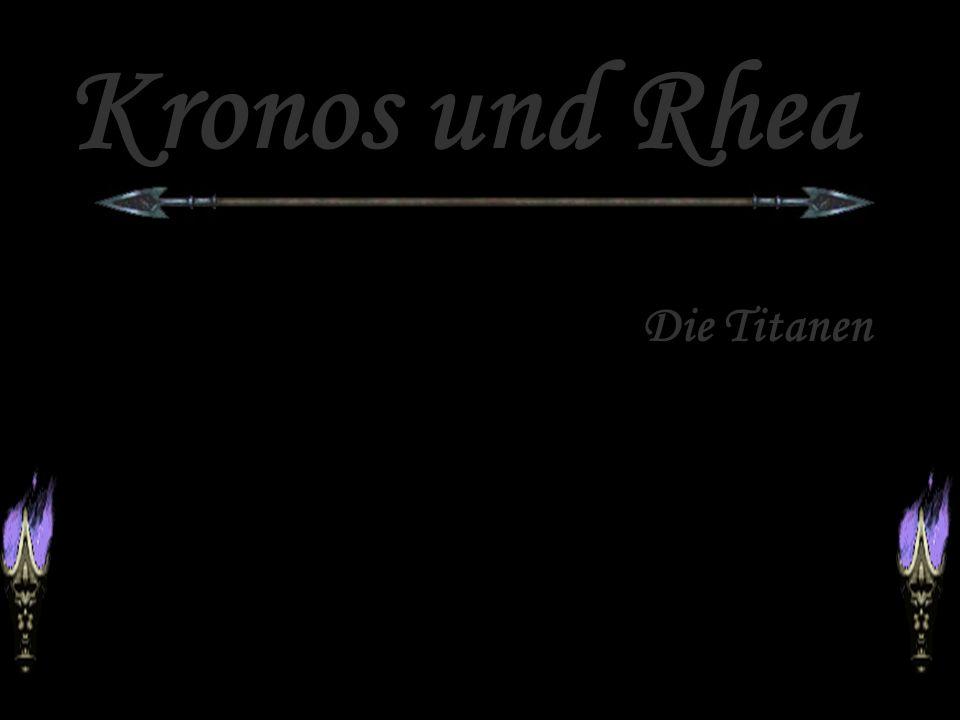 Kronos und Rhea Die Titanen