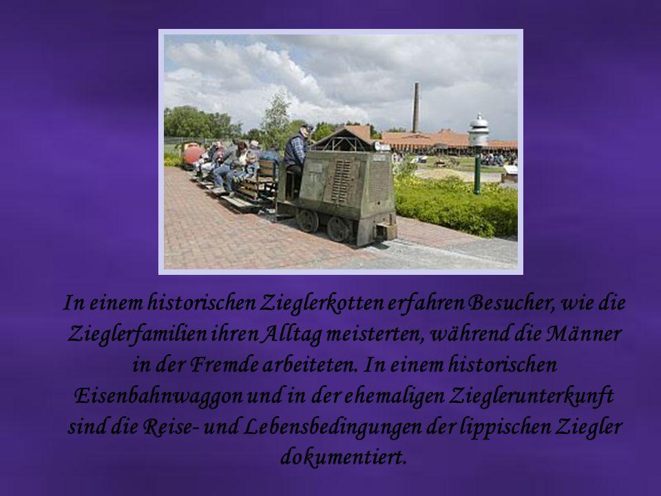 In einem historischen Zieglerkotten erfahren Besucher, wie die Zieglerfamilien ihren Alltag meisterten, während die Männer in der Fremde arbeiteten.