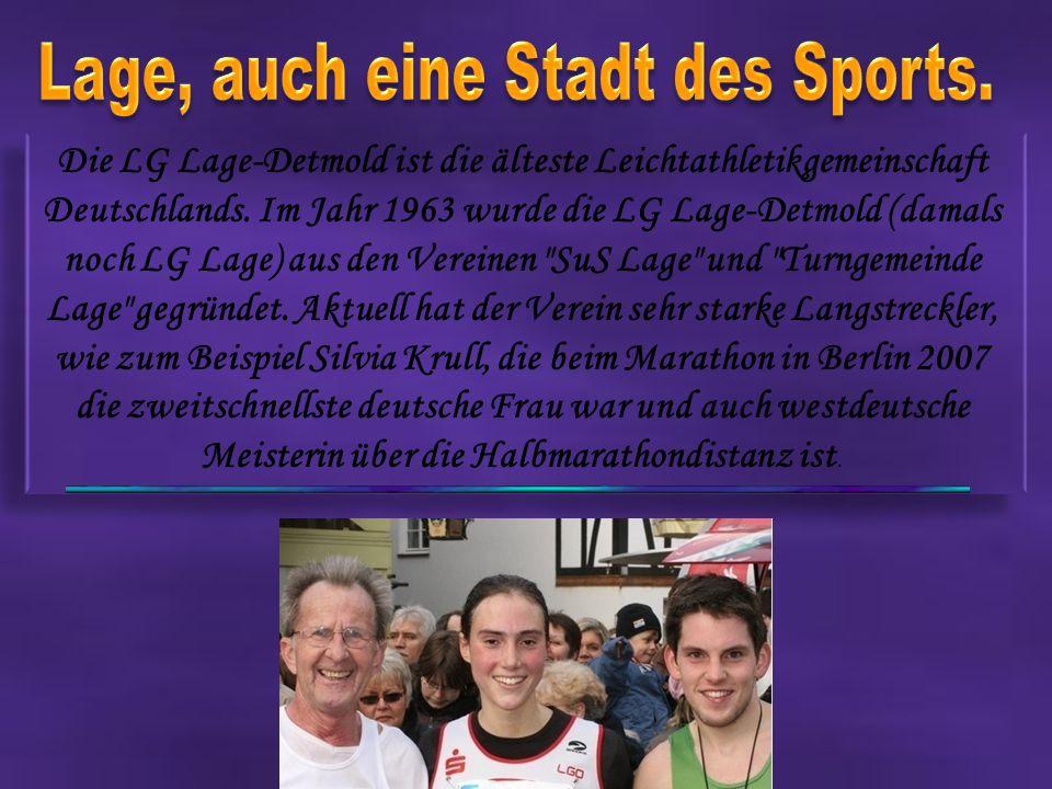 Die LG Lage-Detmold ist die älteste Leichtathletikgemeinschaft Deutschlands.